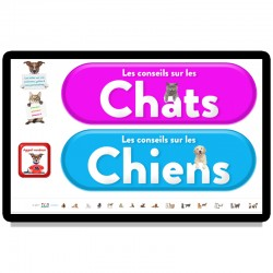 Licence application Chiens et chats